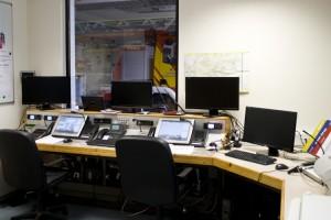Funk-Einsatz-Zentrale der Feuerwehr Freinsheim